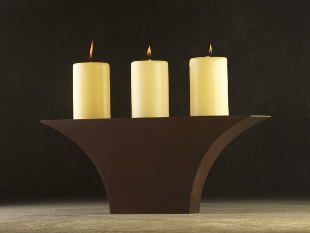 """Anvil Candlestand"""