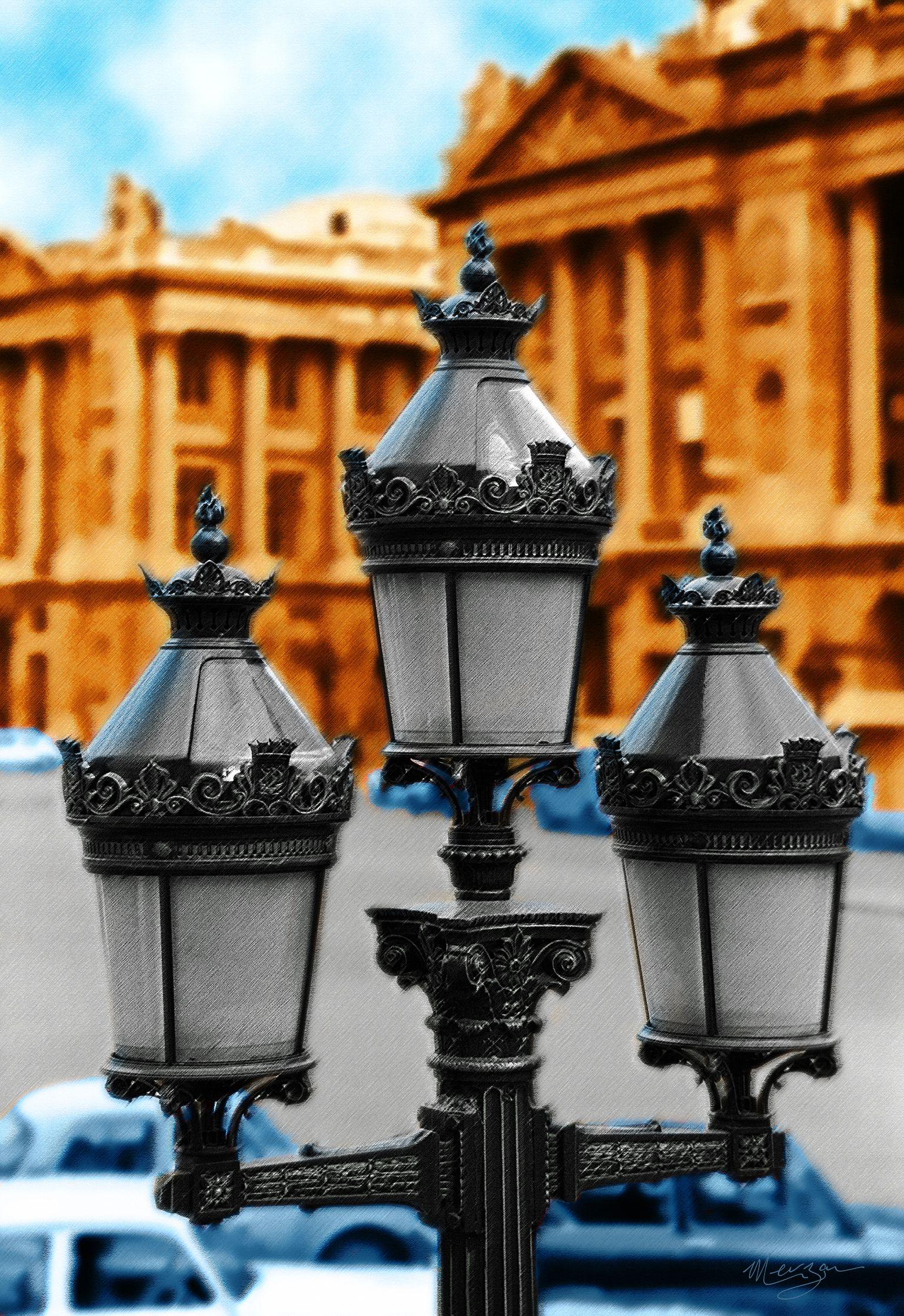Street Lamps by Merzan