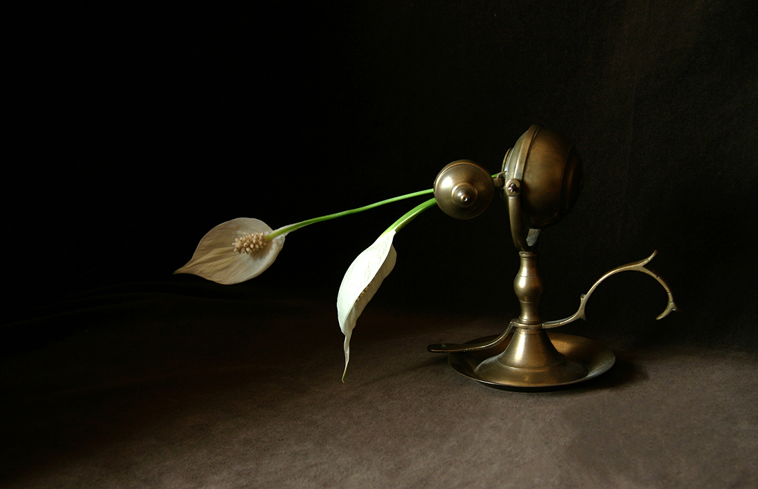 Still Life 1, Oil Lamp