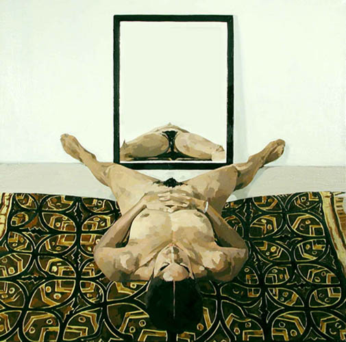 Nude on Batik Cloth