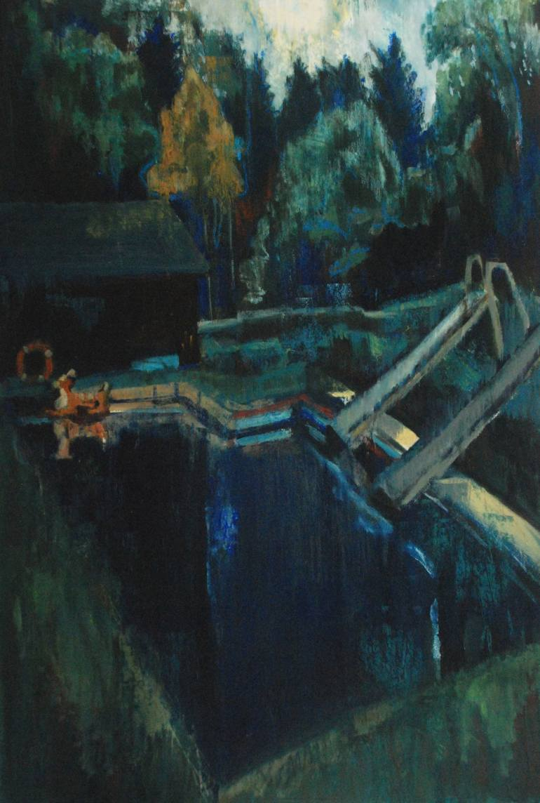 Joanne Reed | Floating Bambi, and the forgotton pool