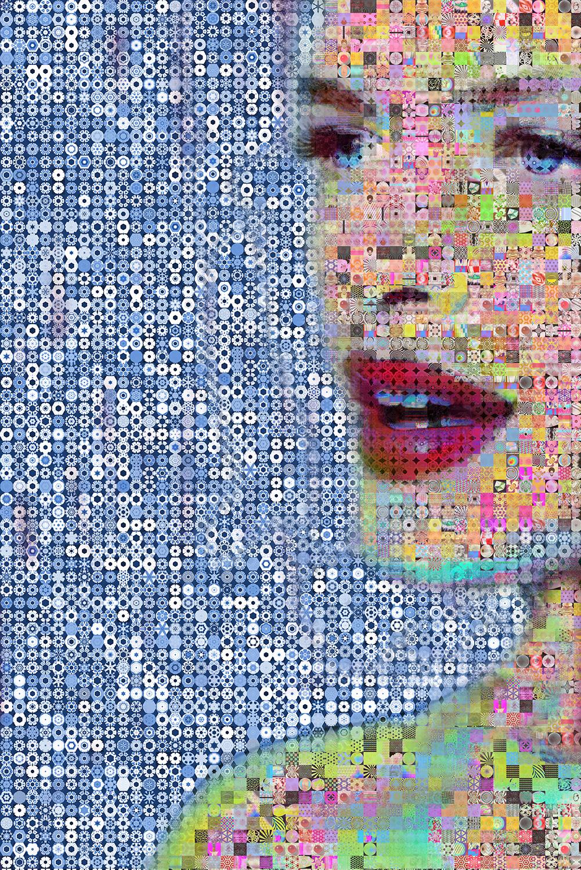 Constance Jablonski, Morning Beauty Collage