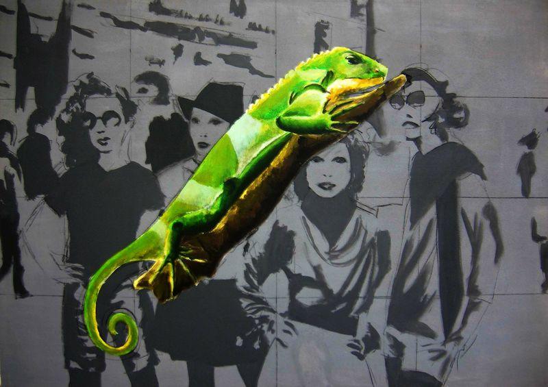 """LIZARDS""by Lara Padilla"