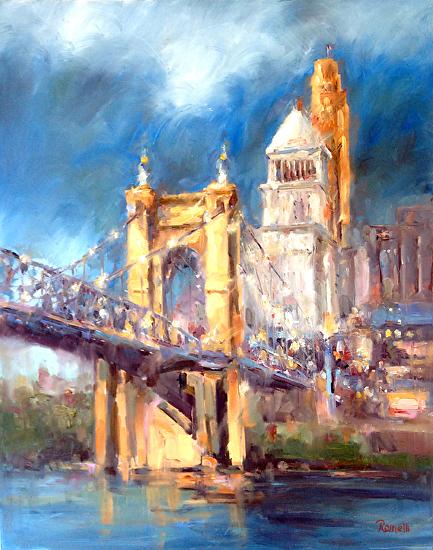 Cincinnati / Roebling by Patrick Romelli