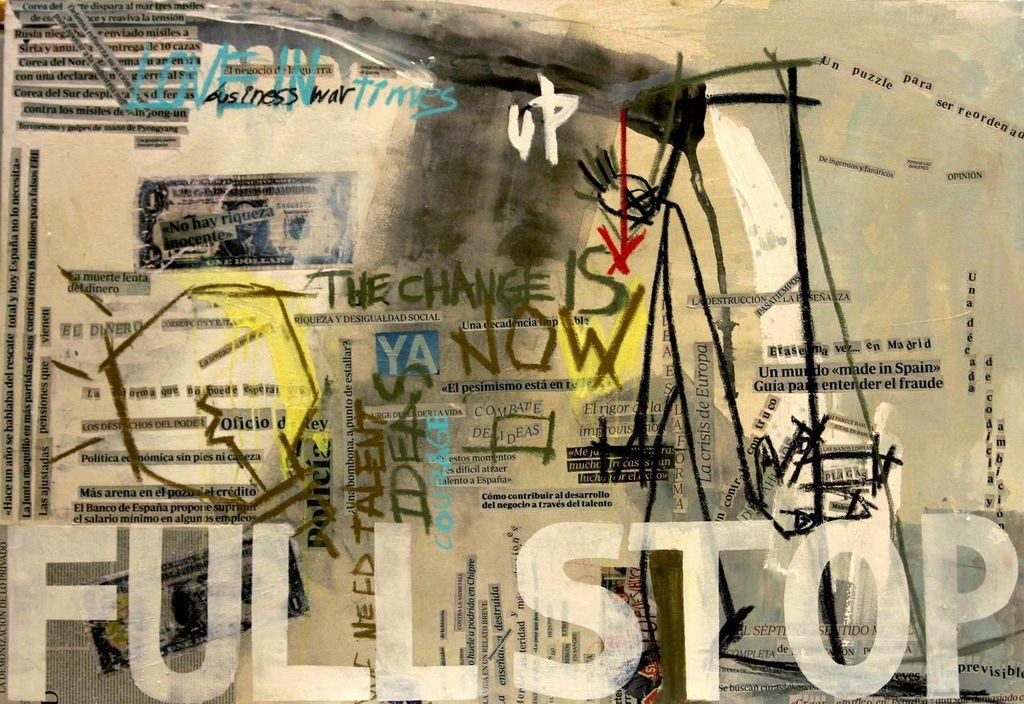 """""""FULL STOP"""" by Lara Padilla Lopez"""