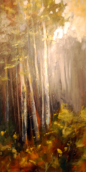Autumn Birch by Shannon Godby