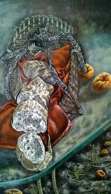 Breadbasket and tangerine