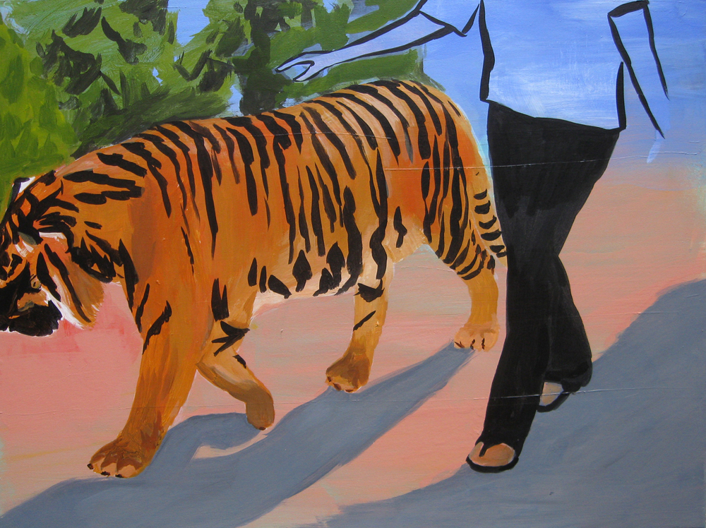 'Walking with a Tiger'