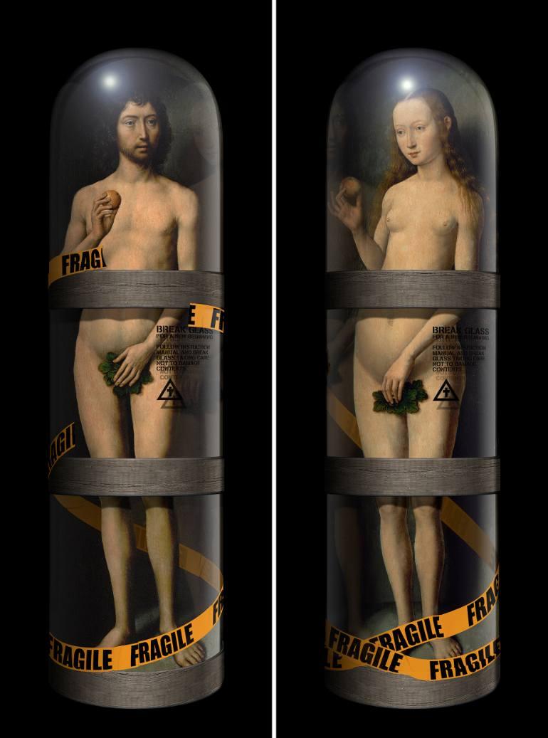 BREAK GLASS FOR A NEW BEGINNING (ADAM & EVE),