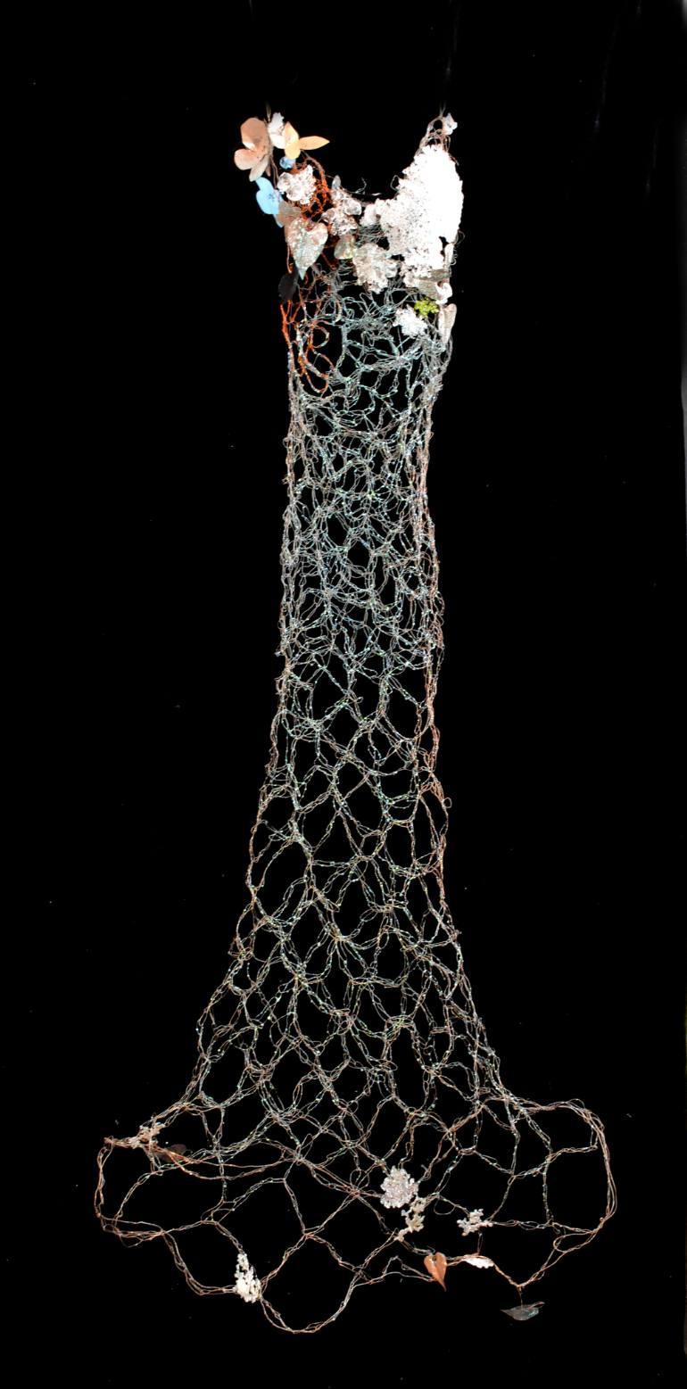 Susan Freda | Mari Virens (Green Ocean) Dress Sculpture
