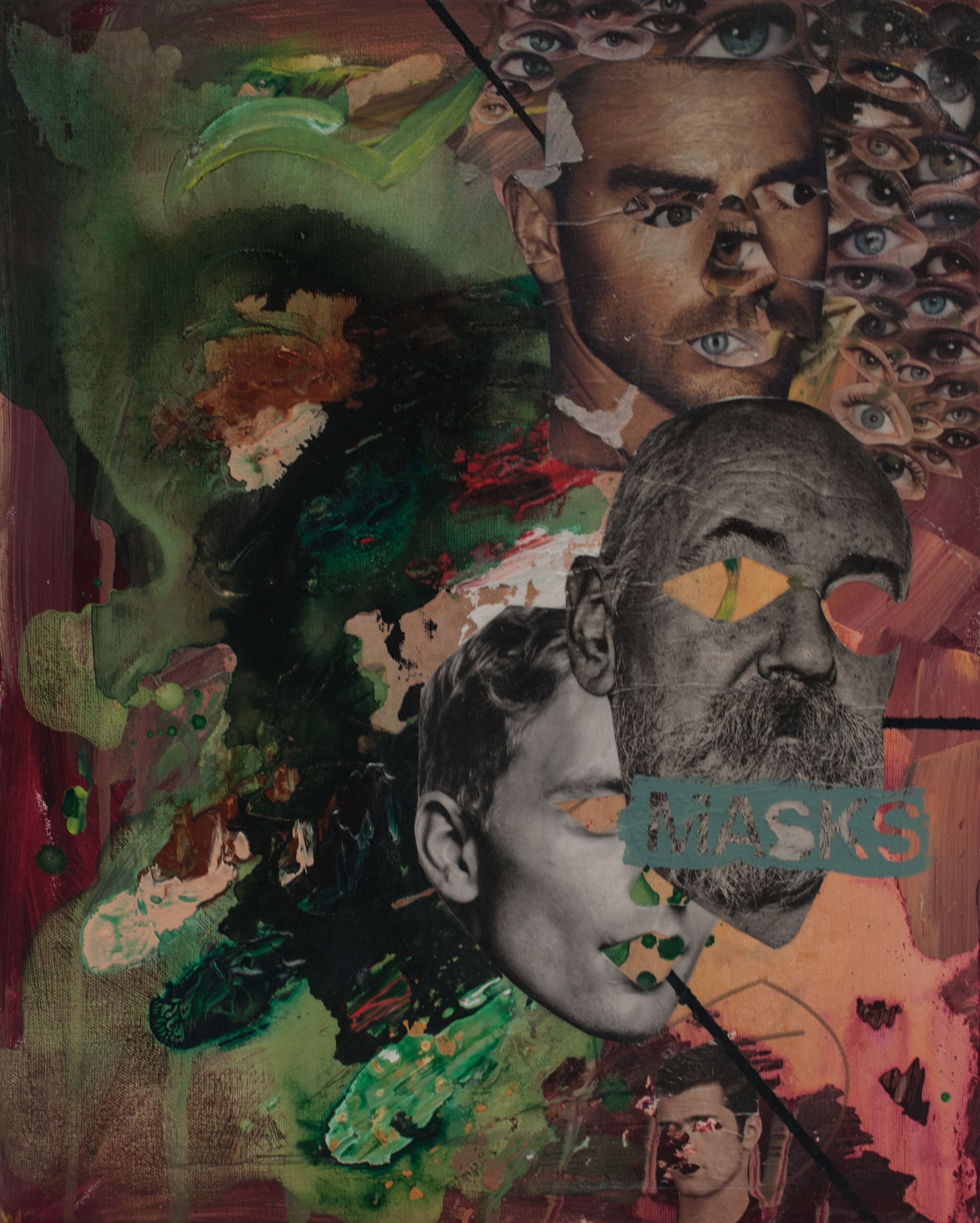 Social Masks by Karli Henneman