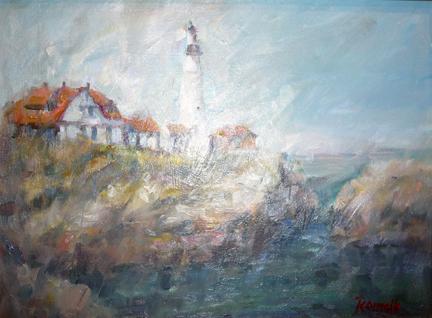 Lighthouse Nova Scotia by Patrick Romelli