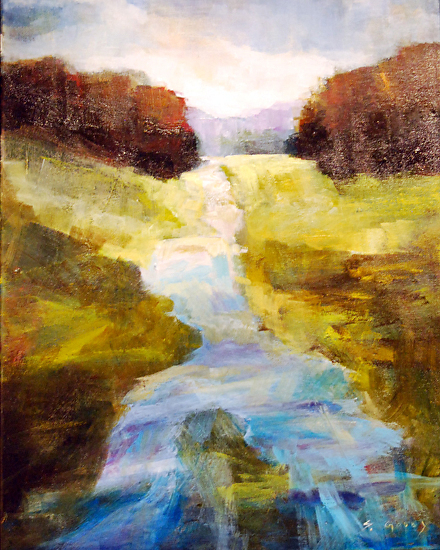 Bubbling Brook by Shannon Godby