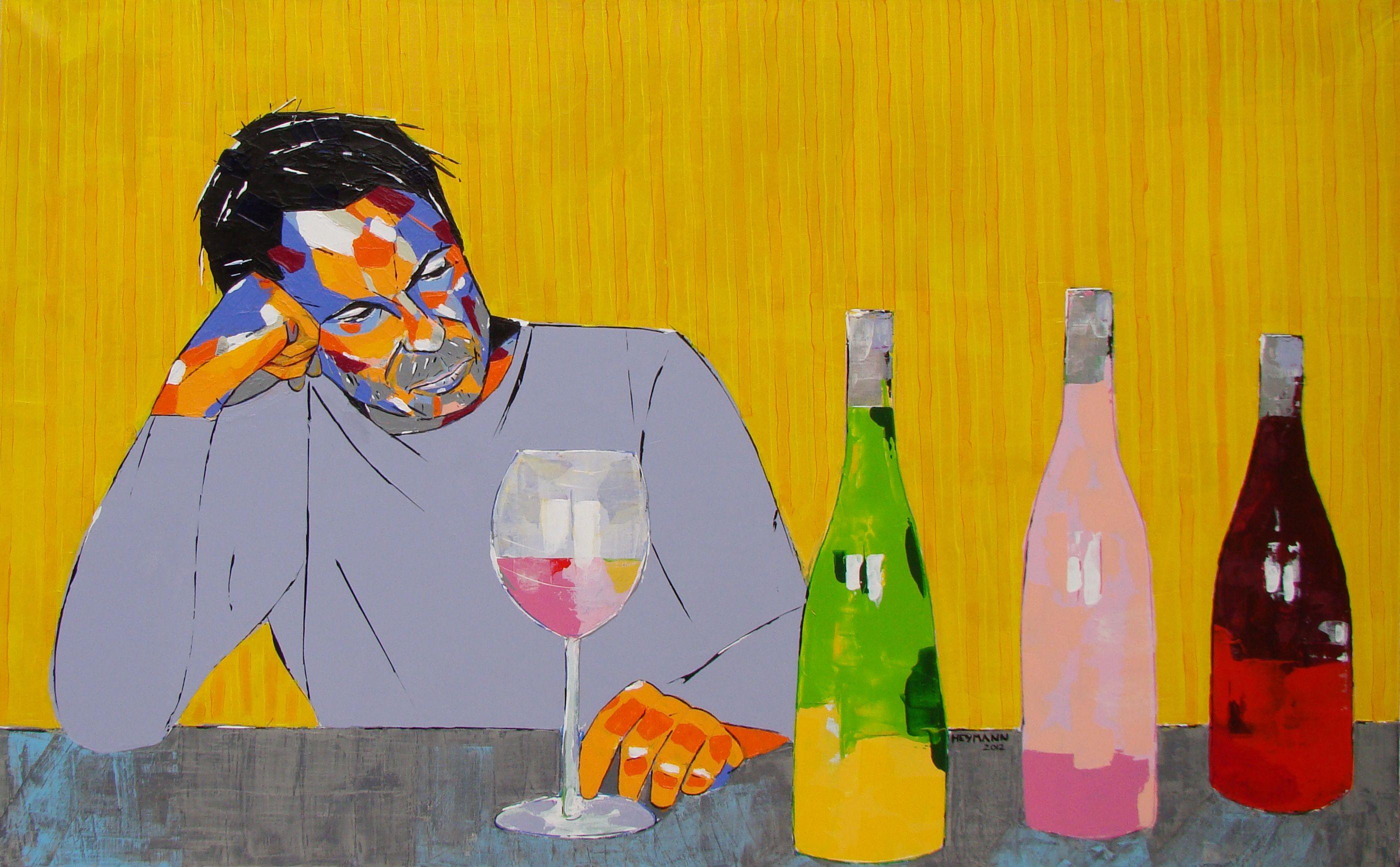 Le Buveur, Christophe Heymann