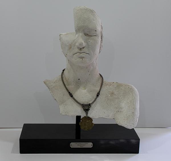 "Michael Escoffery, Fragmentation,"" 2002"