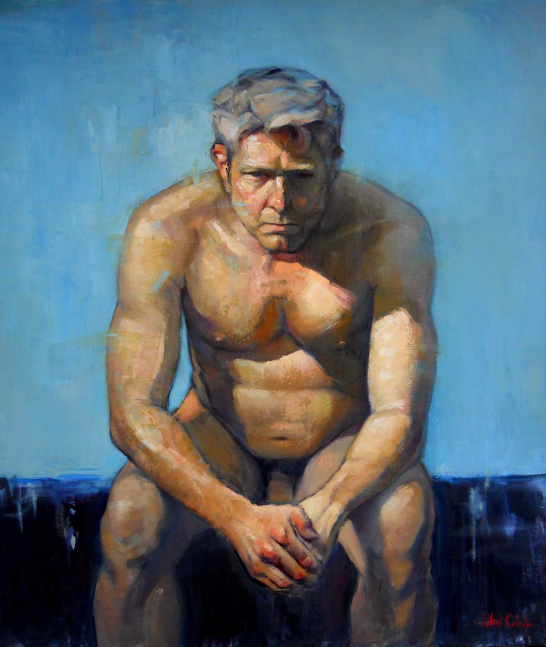 Seated Male Nude | 2016