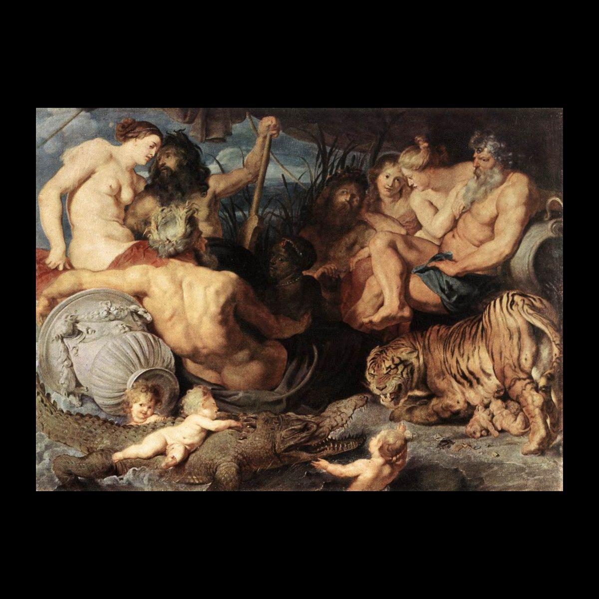 "Rubens Peter Paul ""4 Continenti"""