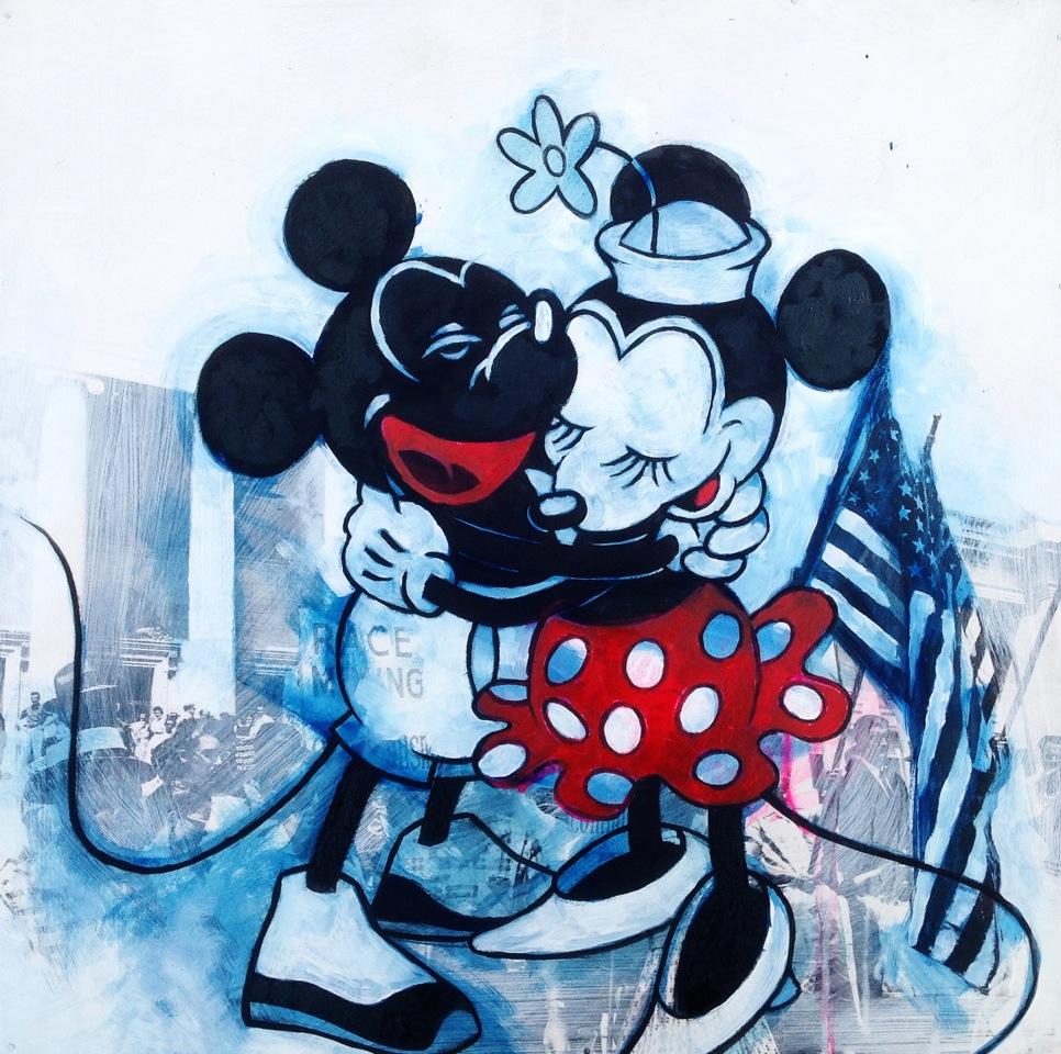 D.L. Warfield | MYBFisBLK - Mickey & Minnie 1