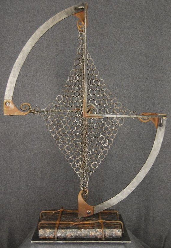 """Jacob Novinger, """"Chainmail-Chainmail,"""" 2005"""