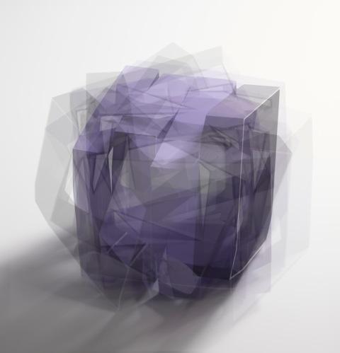 At a distance   purple    2/10 prints