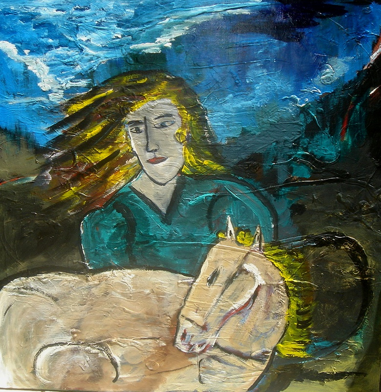 Stefanos Folinas | Girl and a foal