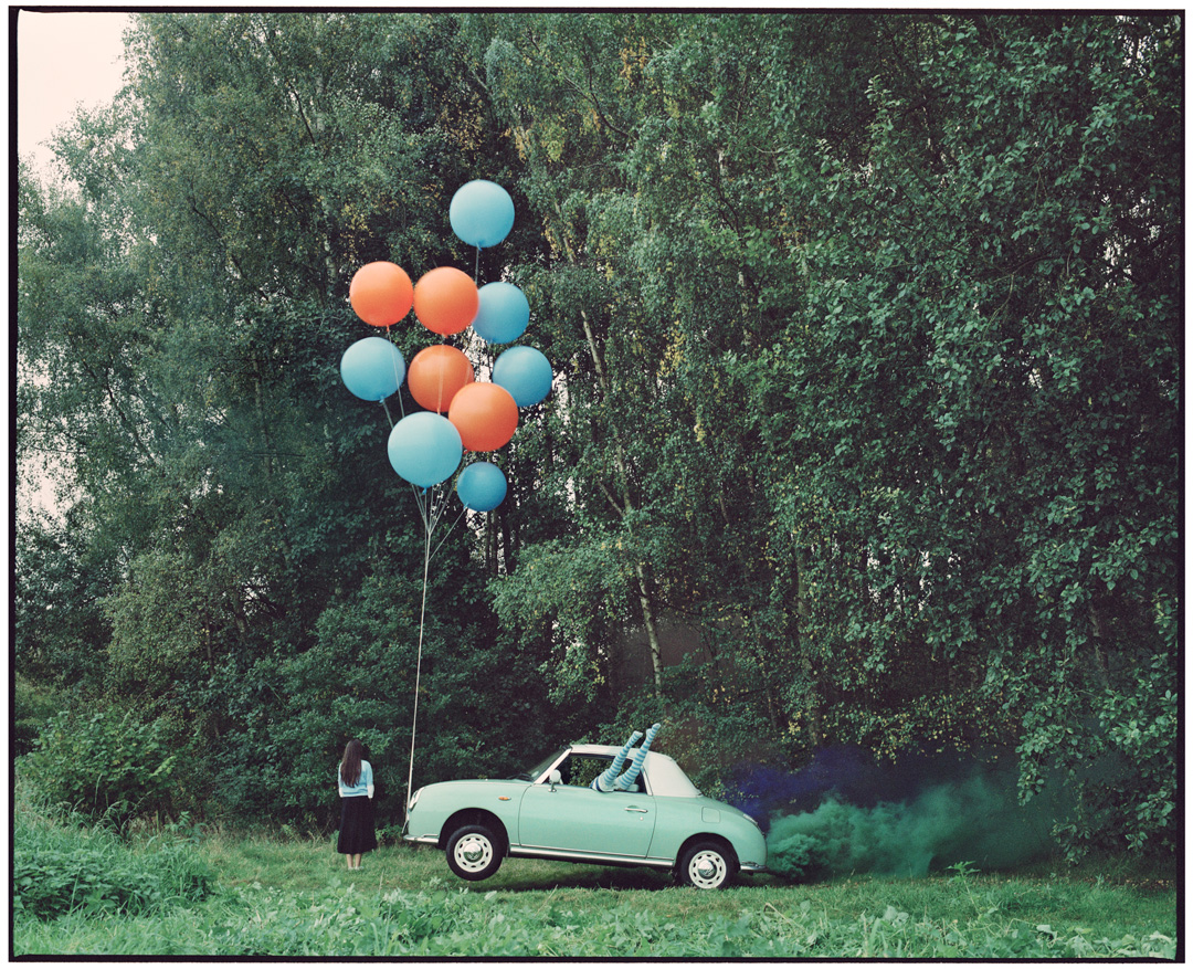 Vikram Kushwah | The Twins & the Green Car - 5 (large) - Limited Edition #1 of 8