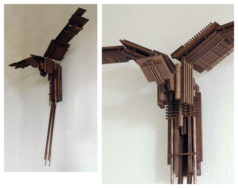 Construction 49, Icarus as Bird