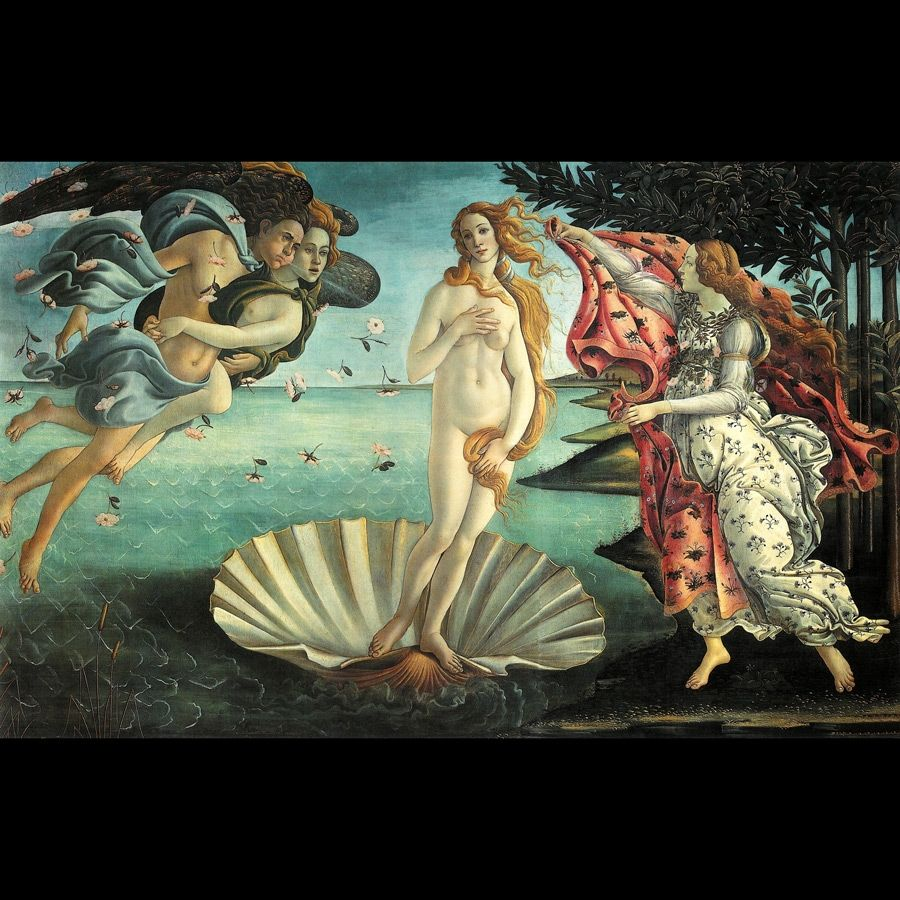 Sandro Botticelli, The Birth of Venus (c. 1486).