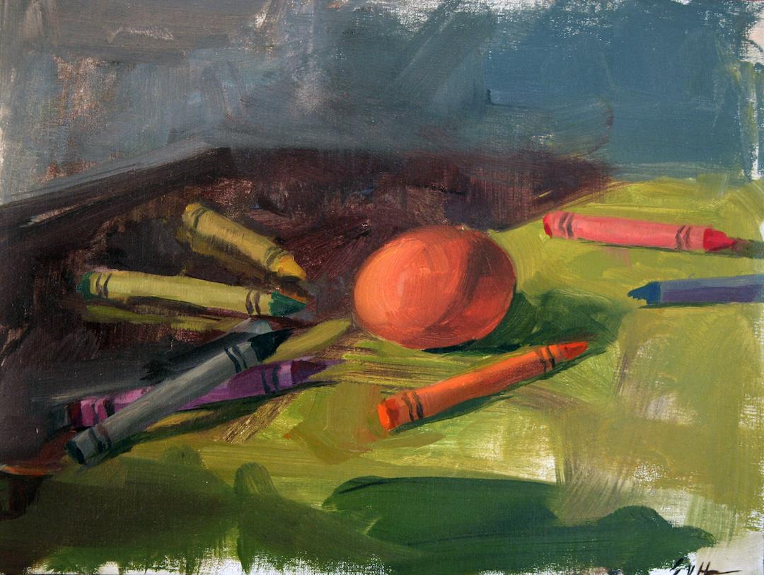 Erick von Hoffmann | Egg with crayons