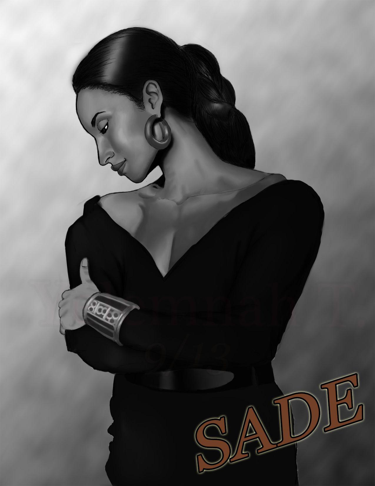 Sade by Yelemnah Tessema Digtal 22 x 28 in., 2013