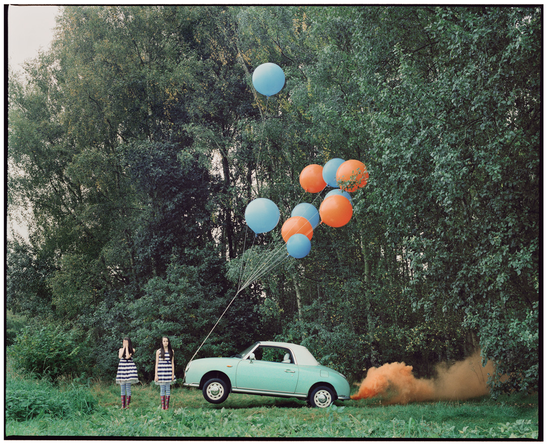 Vikram Kushwah | The Twins & the Green Car - 6 (large) - Limited Edition #1 of 8