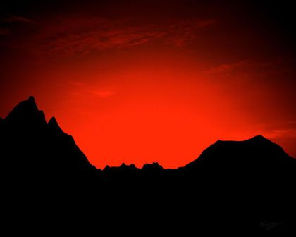 Lost in the Badlands by Merzan