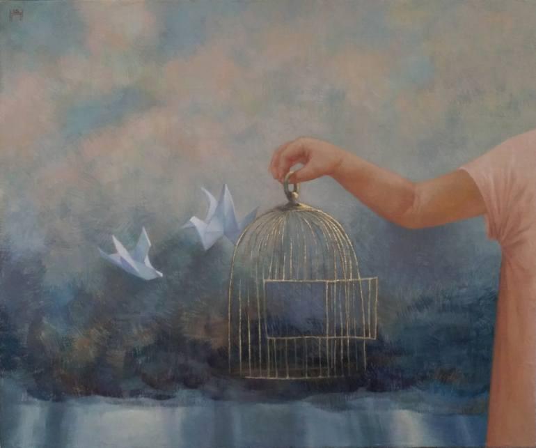 Nadejda Pastoukhova | Ma cage à dorer
