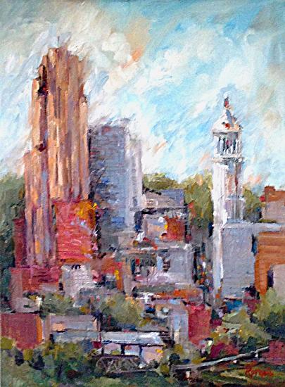 Cincinnati Carew Tower by Patrick Romelli