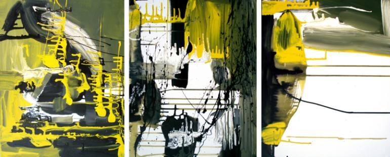 Yellow Cab Triptych