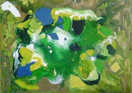 "Caroline Pyle, ""Captivated by Color,"" 2008"