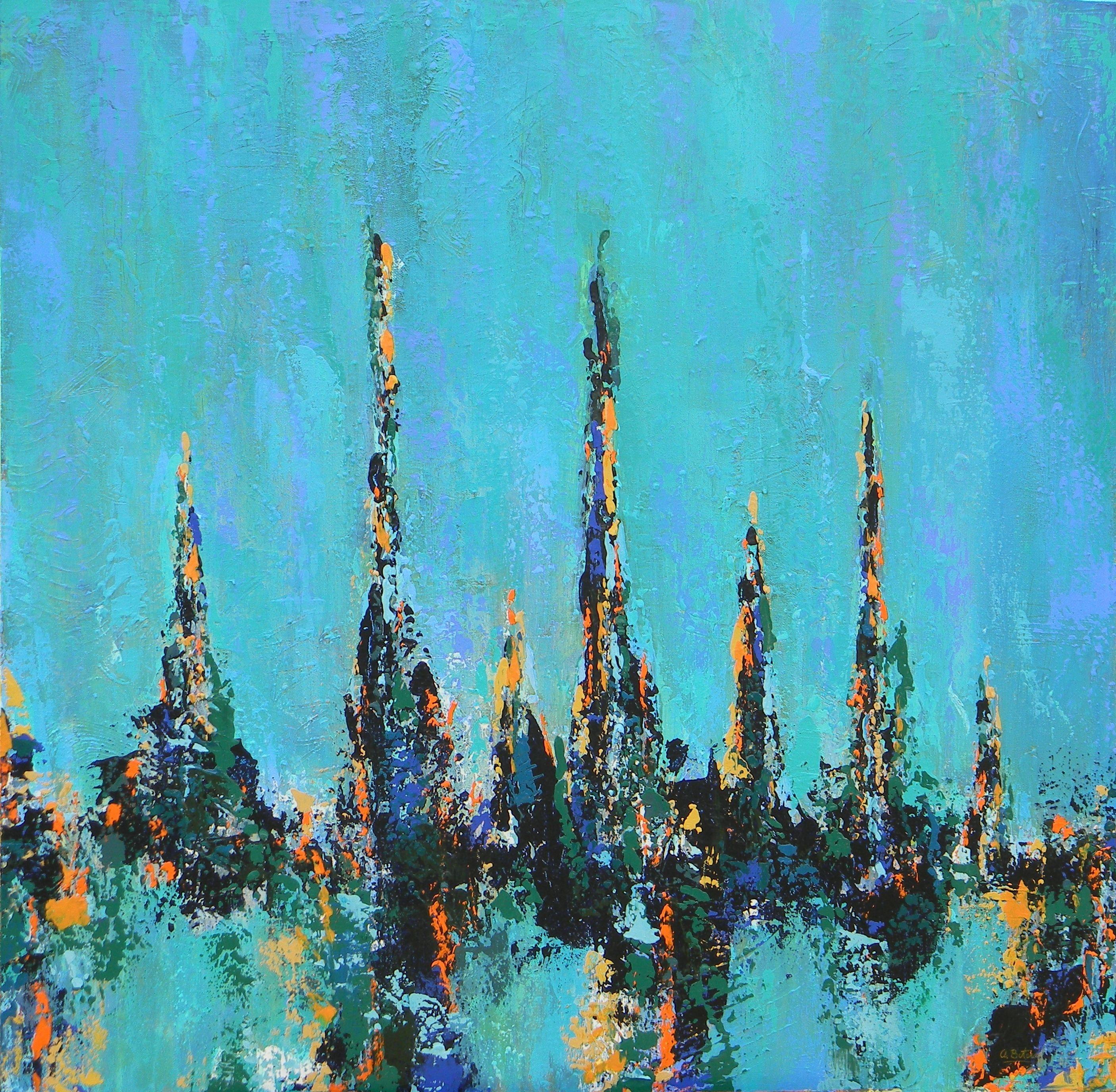 Blue Feelings by Ana Maria Botero