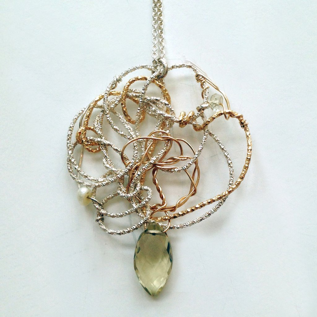 Susan Freda Collection | Susan Freda Collection | Line Drawing Wire Pendant