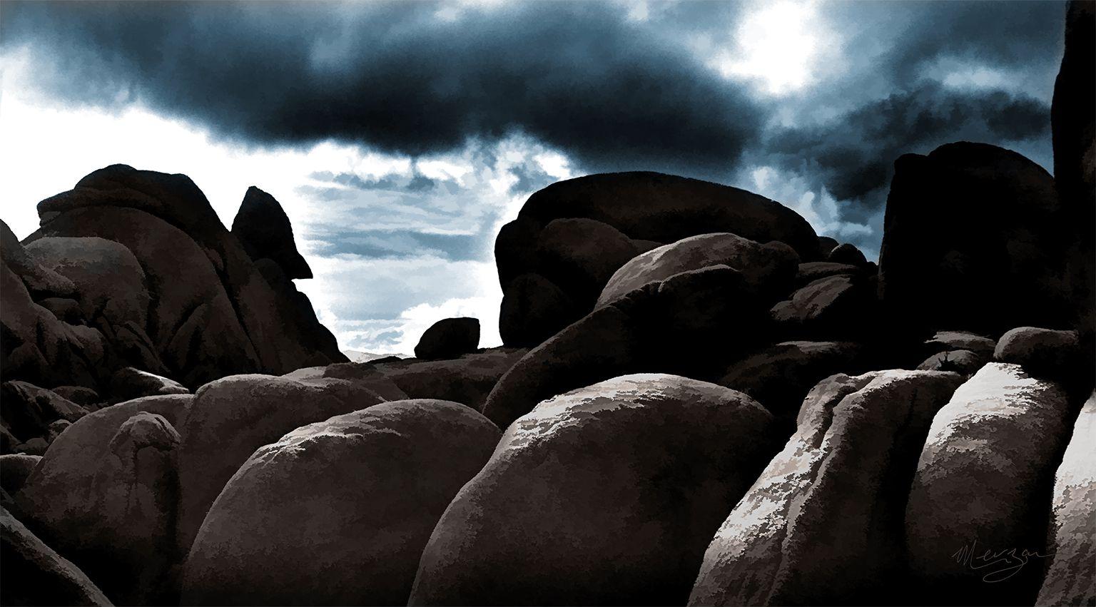Journey into the Shadows by Merzan