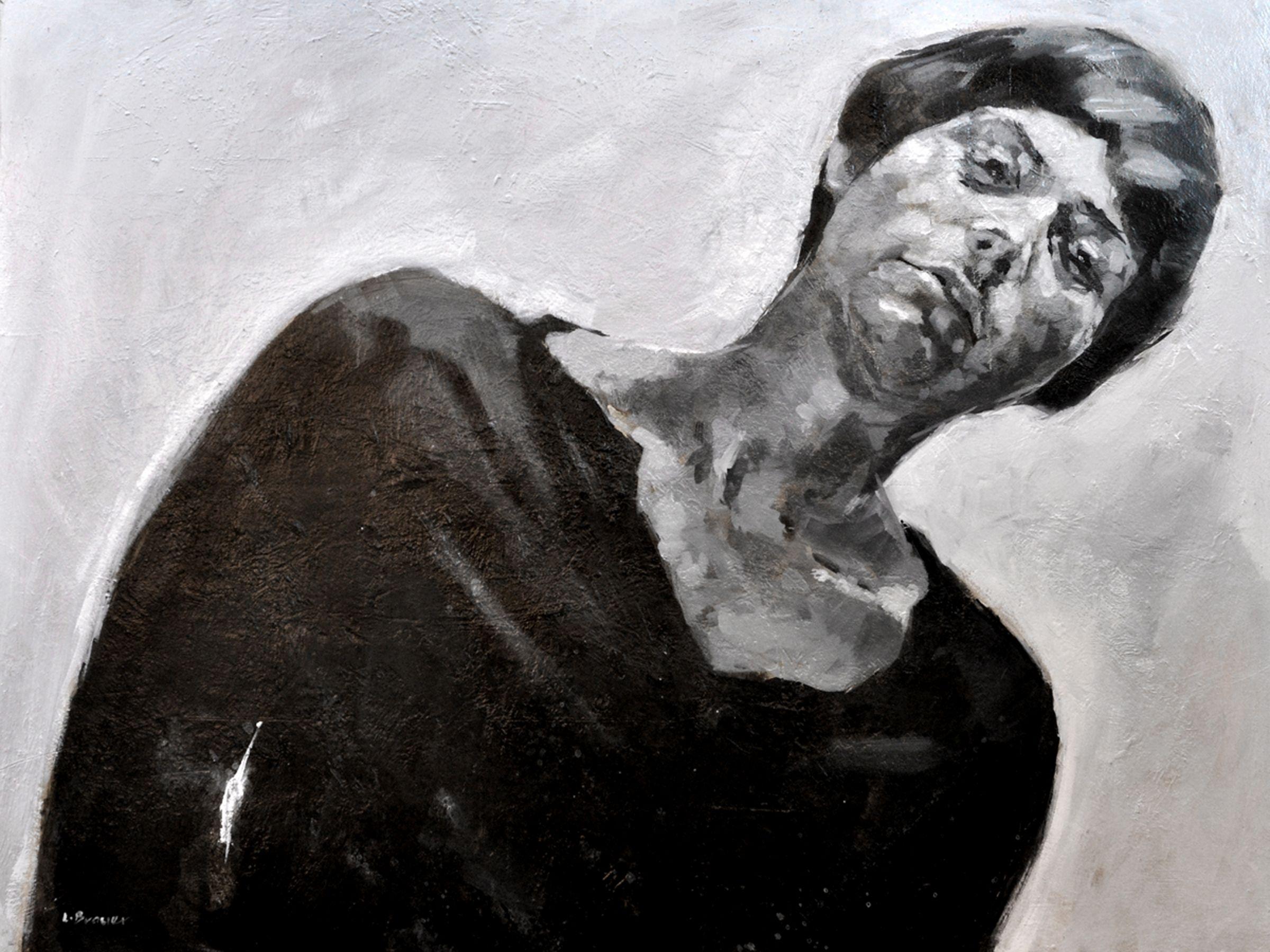 Lon Brauer METRA Oil on panel 36x48 in.