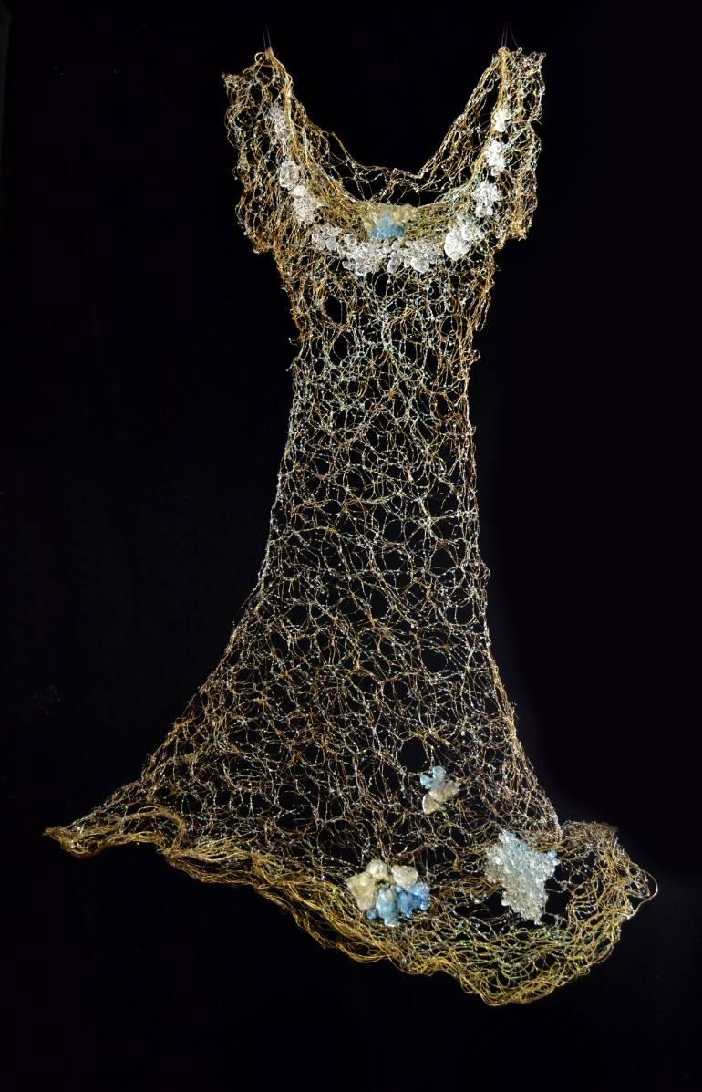Susan Freda | Electri Pluvia Wire Dress