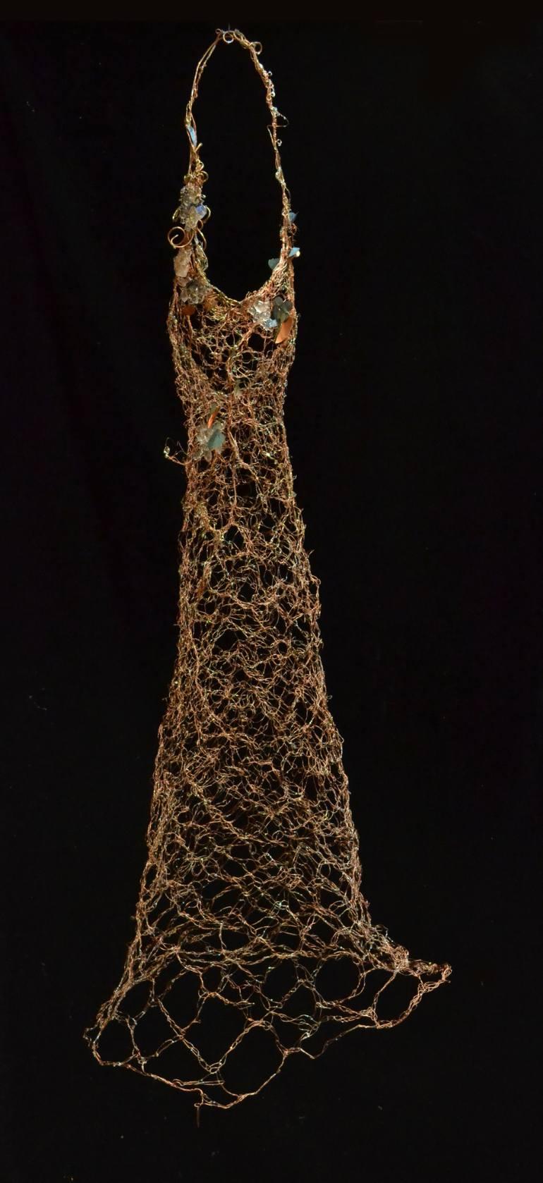 Susan Freda | Cupre Vinea (Copper Vine) Sculptural Dress