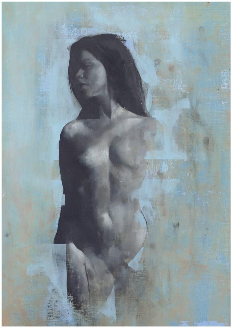 Violet - Original Oil Painting