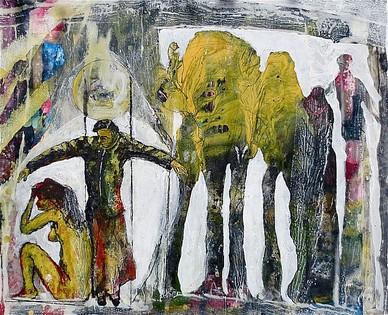 Baumgrenze, 2013, Edgar Piel