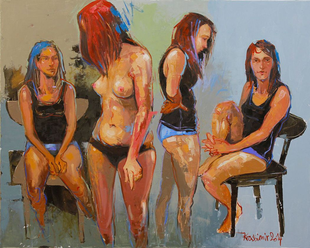 Girl-talk, Oils