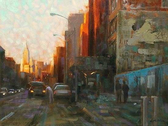Chin H. Shin MANHATTAN SUNLIGHT