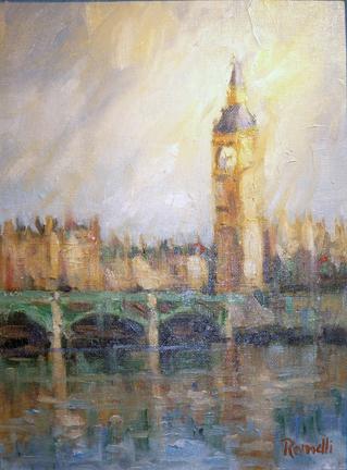 Big Ben, England by Patrick Romelli