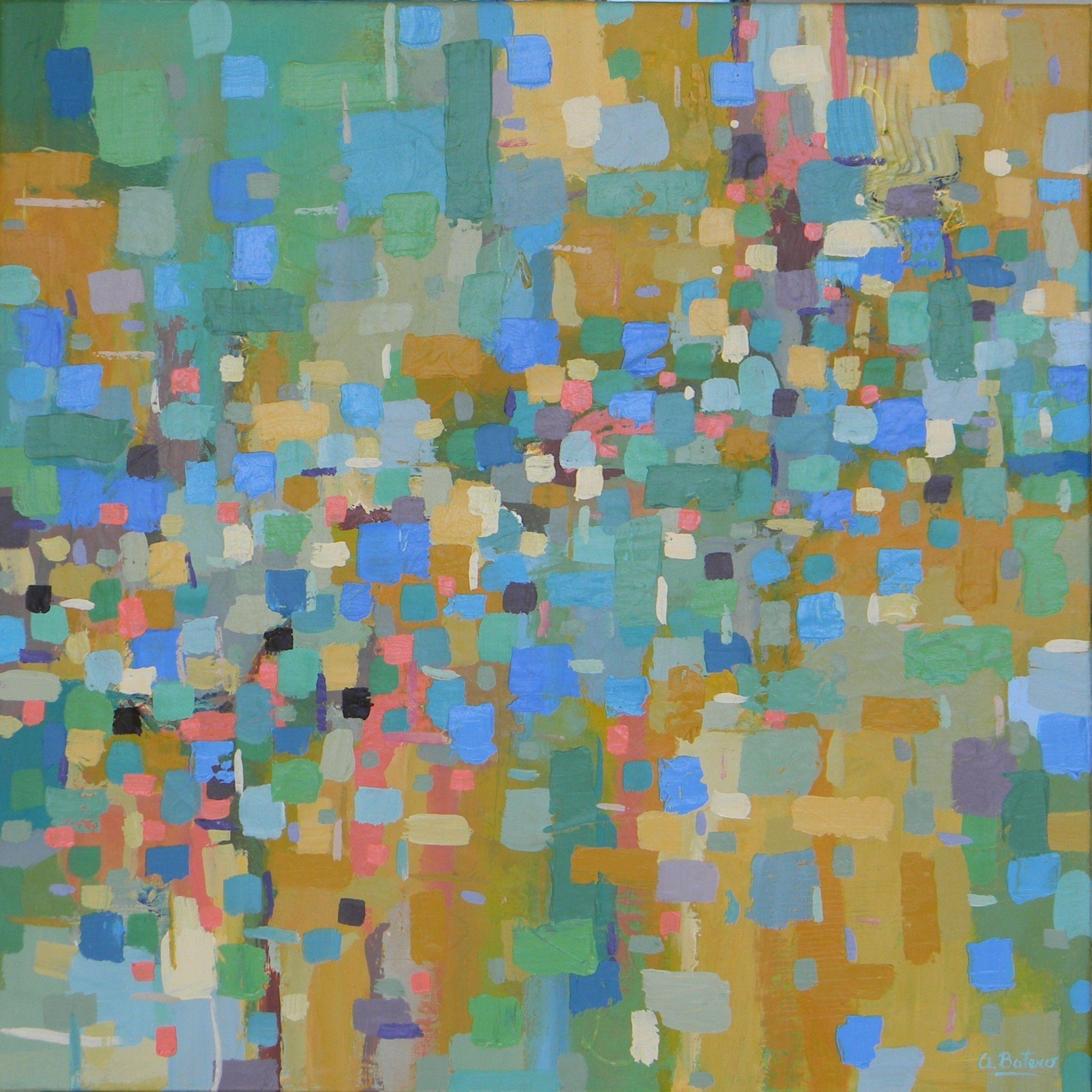 Blue Marks by Ana Maria Botero