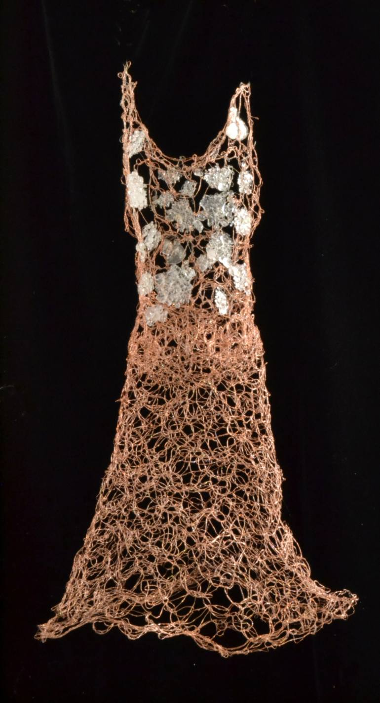 Susan Freda | Cupre Virto (Copper Glass) Wire Dress