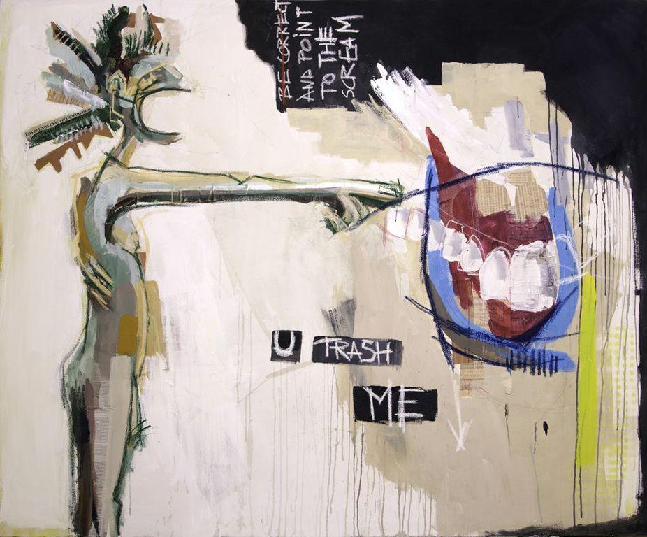 """U TRASH ME""by Lara Padilla Lopez"
